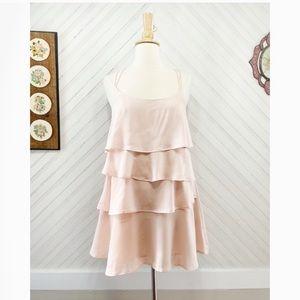 Keepsake the Label • Pale Pink Tiered Dress